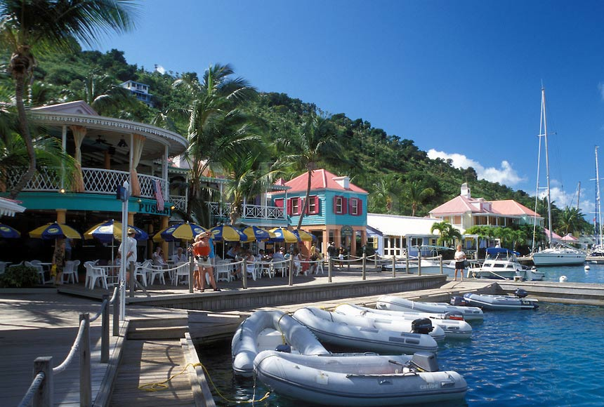 Sopers Hole Marina, West End BVI